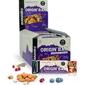 OVERSTIM.s Origin Confezione di barrette 30x40g, Cranberries Blueberries